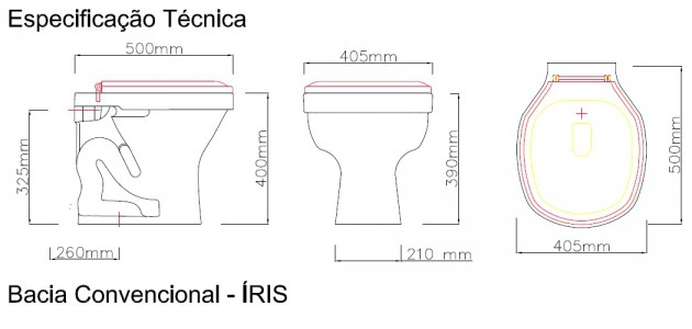 Bacia Convencional - Íris